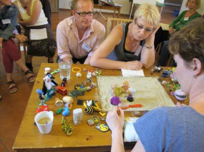 About Me - I have been studying sand tray therapy for 20 years. In the process I have changed the traditional ways of working in the sand tray and have created a new revolutionary wonderful -deceptively simple way of using the sand tray.