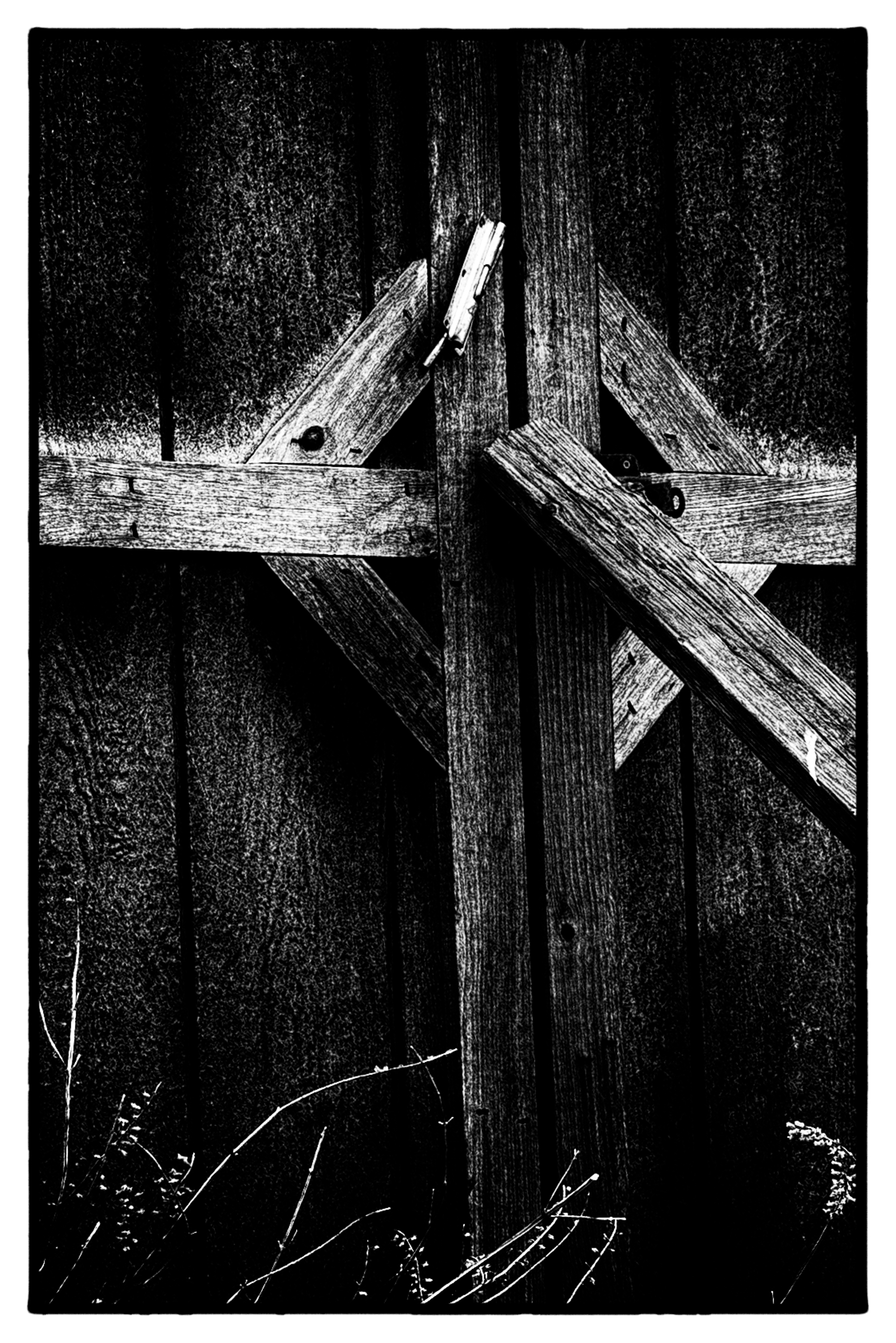 Oxon Hill Farm Shed Door