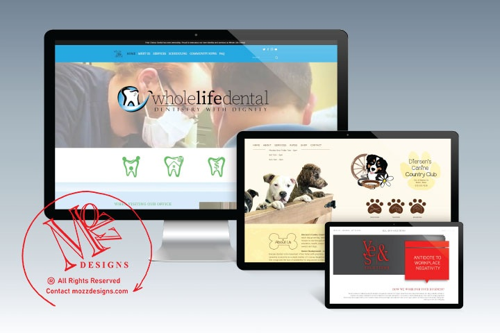 Digital Platforms - Custom brand website or email marketing to provide visual and functional layouts with integrations of Learn More ->