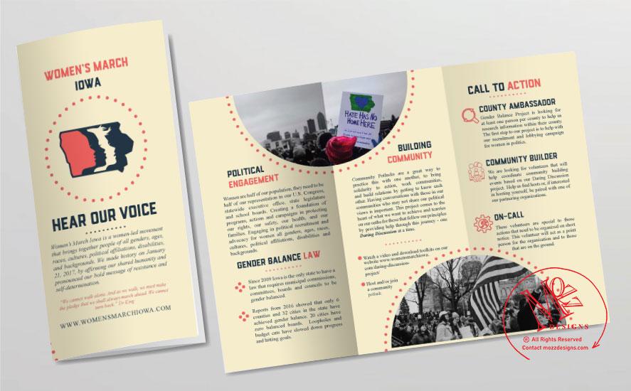 Tri-fold Brochure - Print