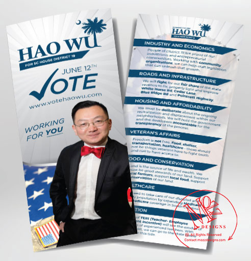 Campaign Palm Card - Print