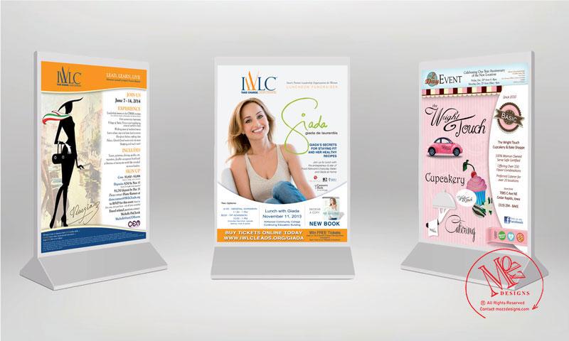 Flyers & Advertising & Menu