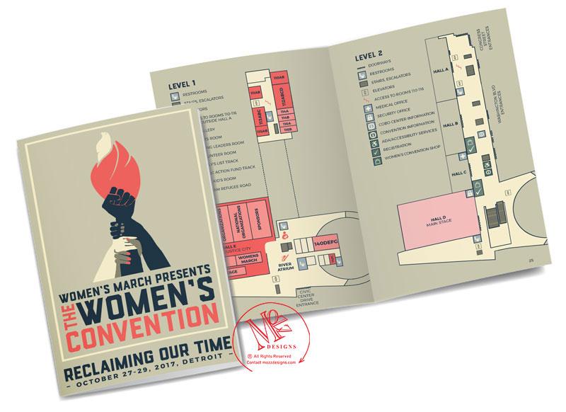 Booklet & Map Illustration