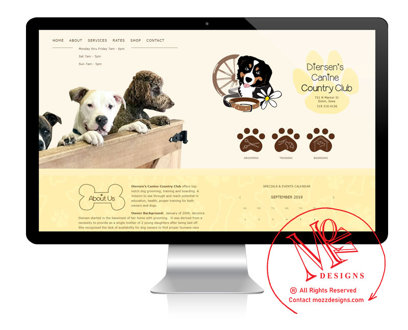 Website - Pet Services