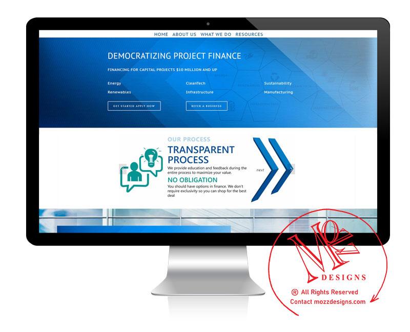 Website - Financial