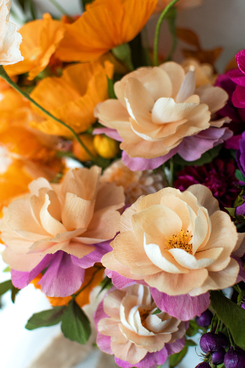 Orange-Pink-Burgundy-Paper-Flower-Bouquet-by-Crafted-to-Bloom-Distant-drums.jpg
