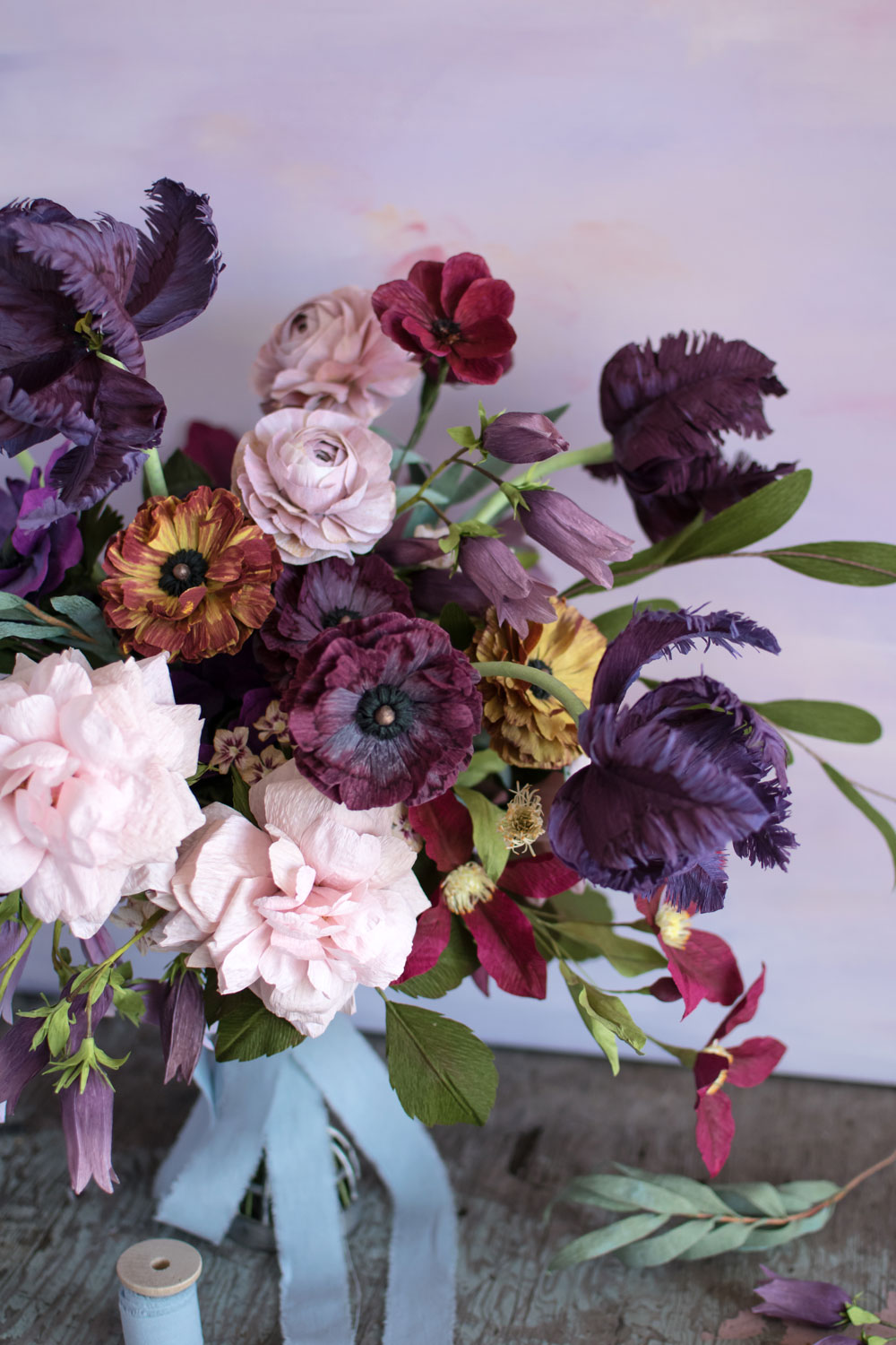 One of the five arrangements in the book - this one is a bouquet