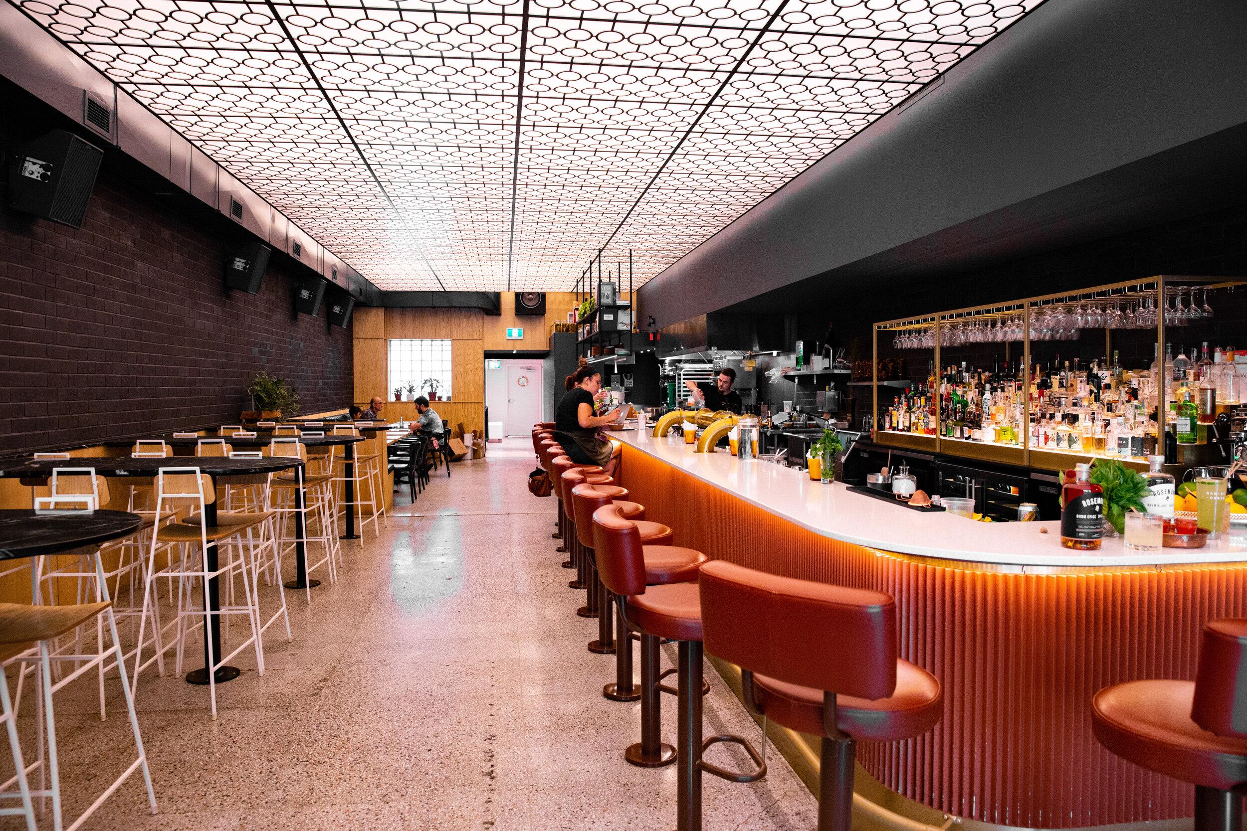 Bar St-Denis - Les cocktails en vedettes ont été crées en collaboration avec le Bar St-Denis.6966 rue St-Denis, MontréalH2S 2S4