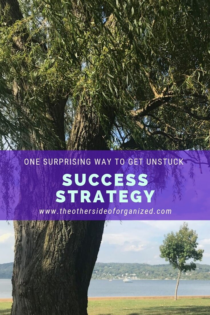 One surprising success strategy to get you unstuck.