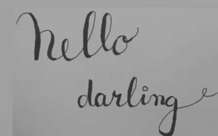 My first attempt at calligraphy back in 2016