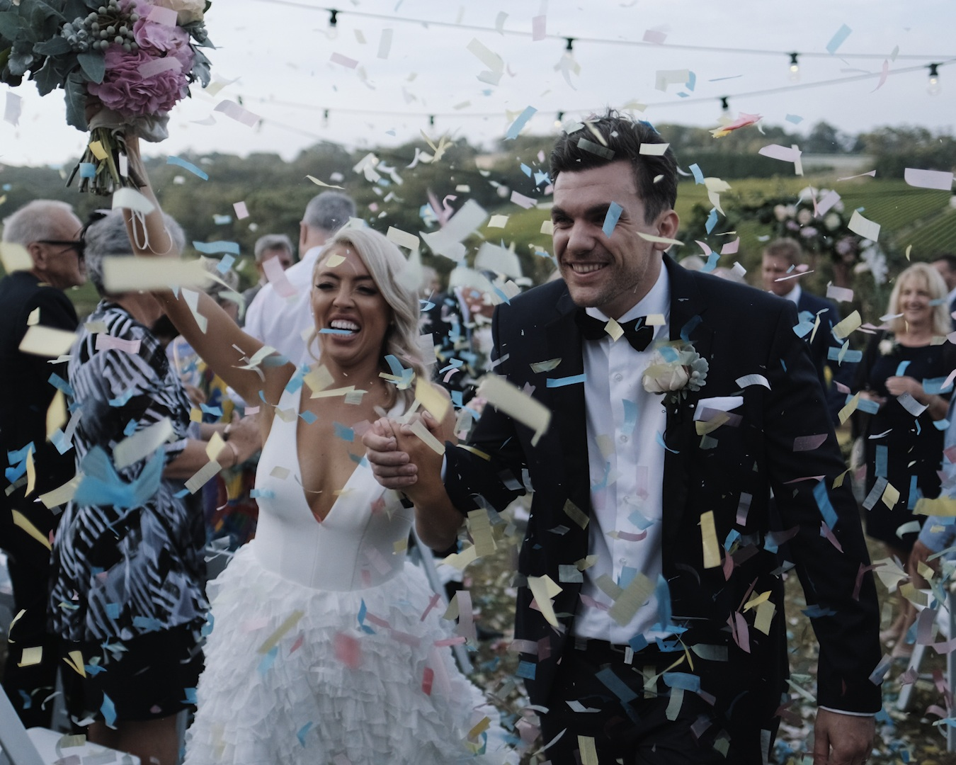 WHO WE ARE - The story of your wedding day will be one of the most precious of your lifetime. That's why it's such a privilege for us to bring these stories to life. So far, we've captured hundreds of weddings so we know what works and what doesn't. In fact, one of our videos won the Gold Award at the AIPP Video Producer awards and our rad clients give us rave reviews on Facebook.Most importantly, we know that every story is different – and therefore every wedding film we make is different too. By 'different' we don't just mean grabbing a random soundtrack and calling it done, we're talking about an exclusively handcrafted, premium approach from beginning to end. We get to know you and your quirks in preparation, capture the tiny beautiful details on your day, find the perfect music to complement your footage, and bring it all together in a blow-your-socks-off video that is undisputedly, remarkably 'you.'Telling your story, in your way, is what we do best.