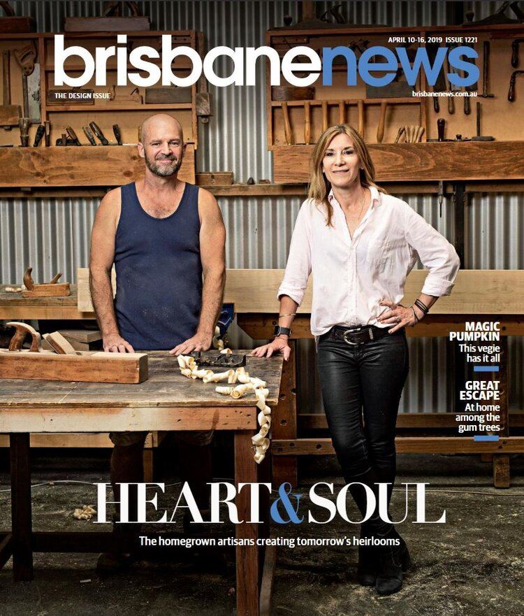 Front Page Feature in the BrisbaneNews Design Issue 2019