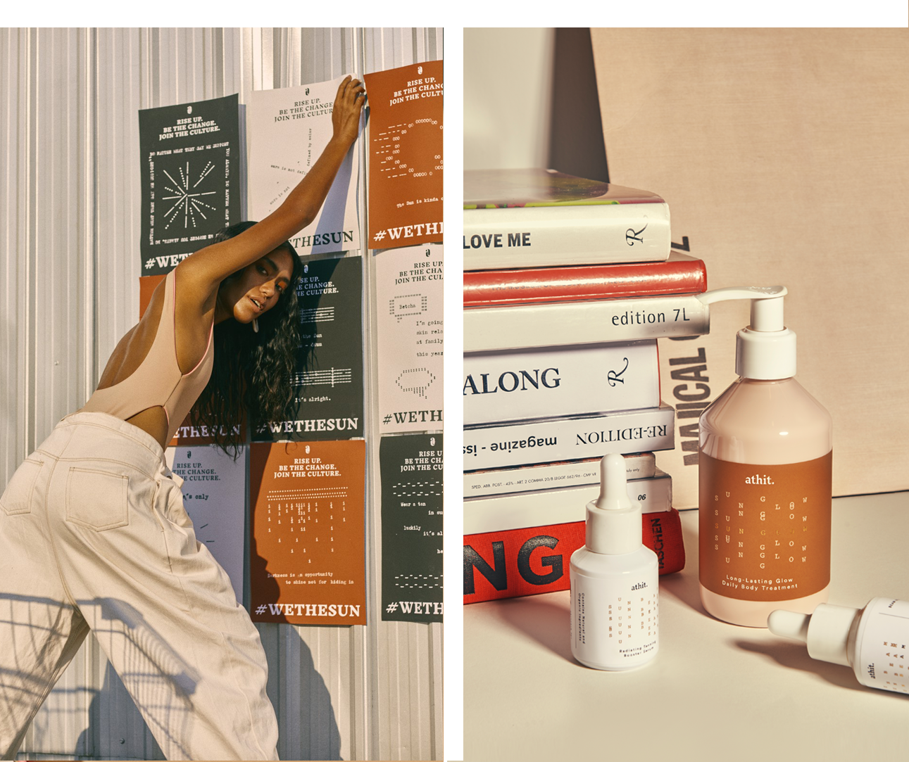GET REAL.        GET GLOW.    - Be the change you want to see.Join our exclusive tan culture.