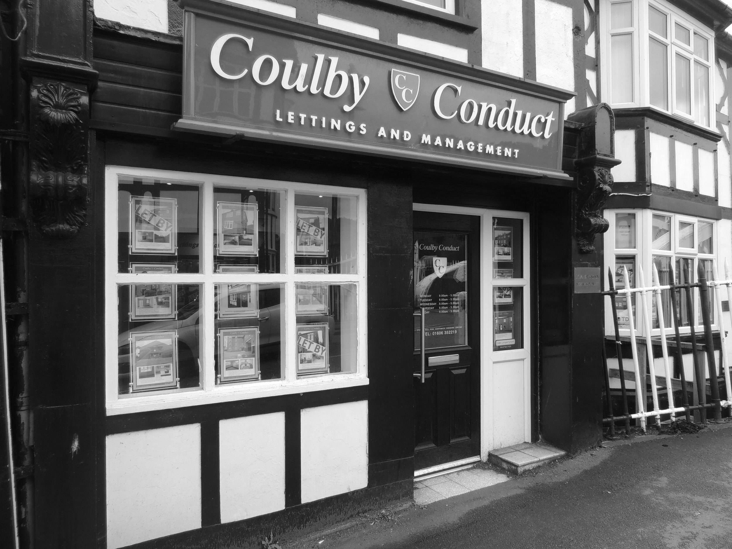 Coulby Conduct Lettings & Management - Coulby Conduct offer a complete end to end service from the initial marketing appraisal right through to the management of your property. With Coulby Conduct Lettings and Management you can be assured that we will endeavor to provide you with a service second to none.Lettings fees start from as little as £199 +vat.
