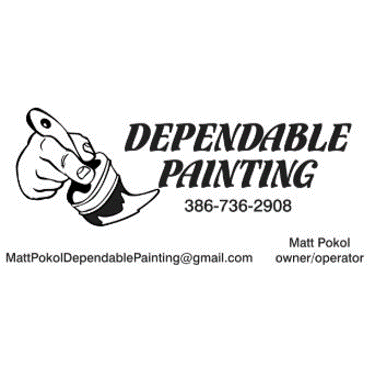 DEPENDABLE PAINTING  Just like the name says, Dependable Painting specializes in commercial & residential painting services within the DeLand & surrounding areas.