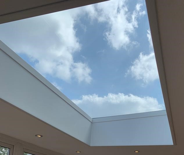 Skylights - Our range of bespoke, high-specification skylights offer a unique way to create a sense of space, height and light in you home.We are proud to supply and install Ultrasky's lantern and flat roofs which offer stylish and highly functional design. Ultrasky products are market leading in terms of energy efficiency, installation time and UV rating. A range of tints and colours enable your skylight to be tailored perfectly to suit your project.If you would like to book a no obligation home survey please call our showroom team who will be more than happy to discuss your enquiry: 020 8361 0128.