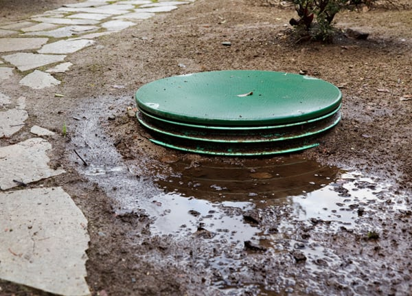 What is a septic tank/cesspit? - Septic tanks or cesspits provide a solution for sewage disposal if the property does not have access to the mains. A cesspit is a sealed pit or tank which means it would need emptying a lot more frequently than a septic tank. A septic tank is very similar to a cesspit but different in the fact that it is not sealed, it has a soakaway. A soakaway, when the tank is full, allows liquid to soak away into the ground meaning that the tank will need emptying much less frequently than if it was sealed.