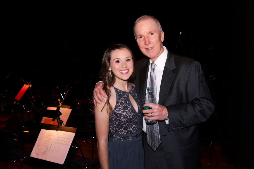 Photo – Dr. Mark King and Laura King, Christine's Christmas Concert in Columbus, Ohio