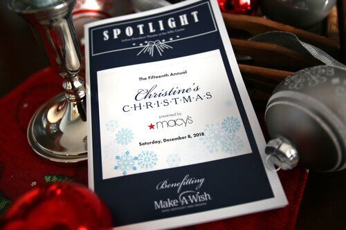 Photo – Christine's Christmas Playbill 2018, presented by Macy's; benefitting Make-A-Wish
