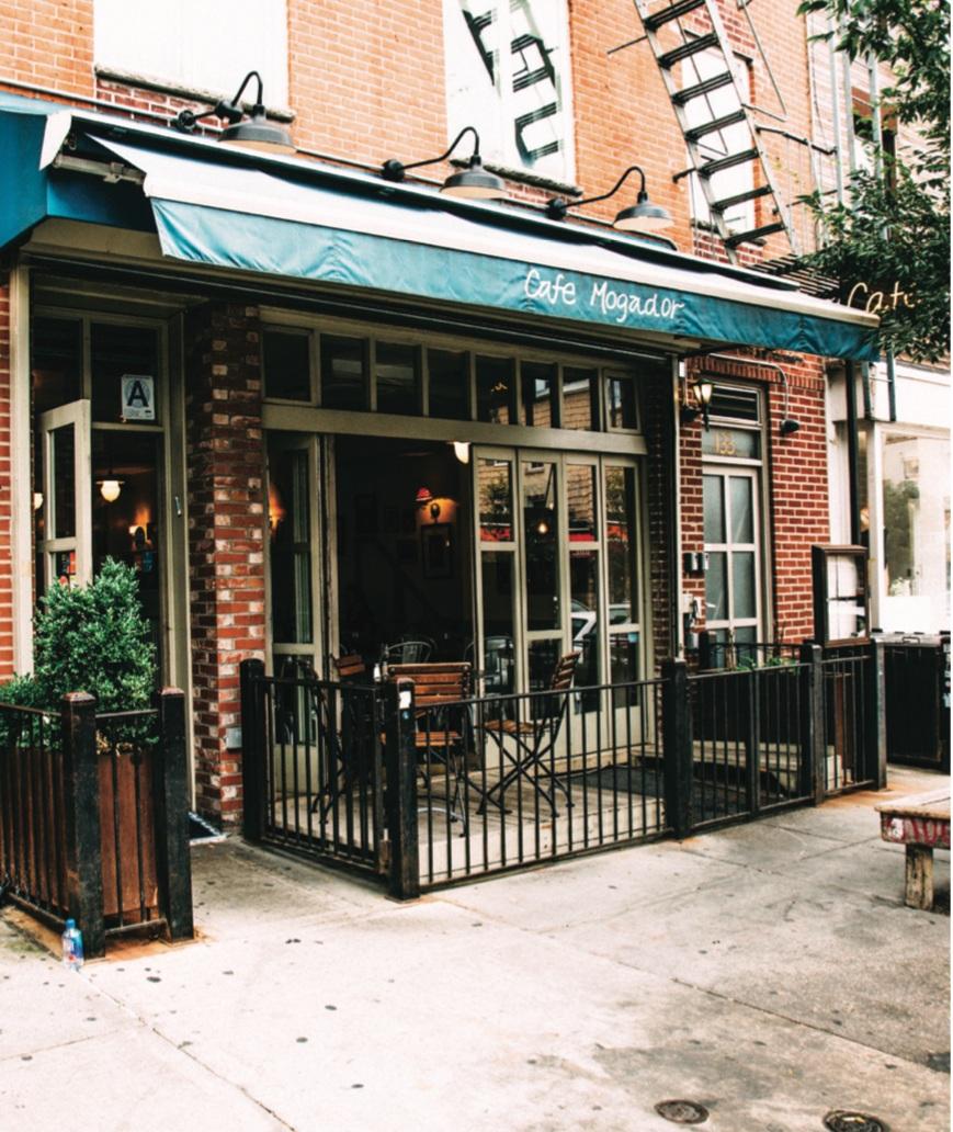 Cafe Mogador - 133 Wythe Ave