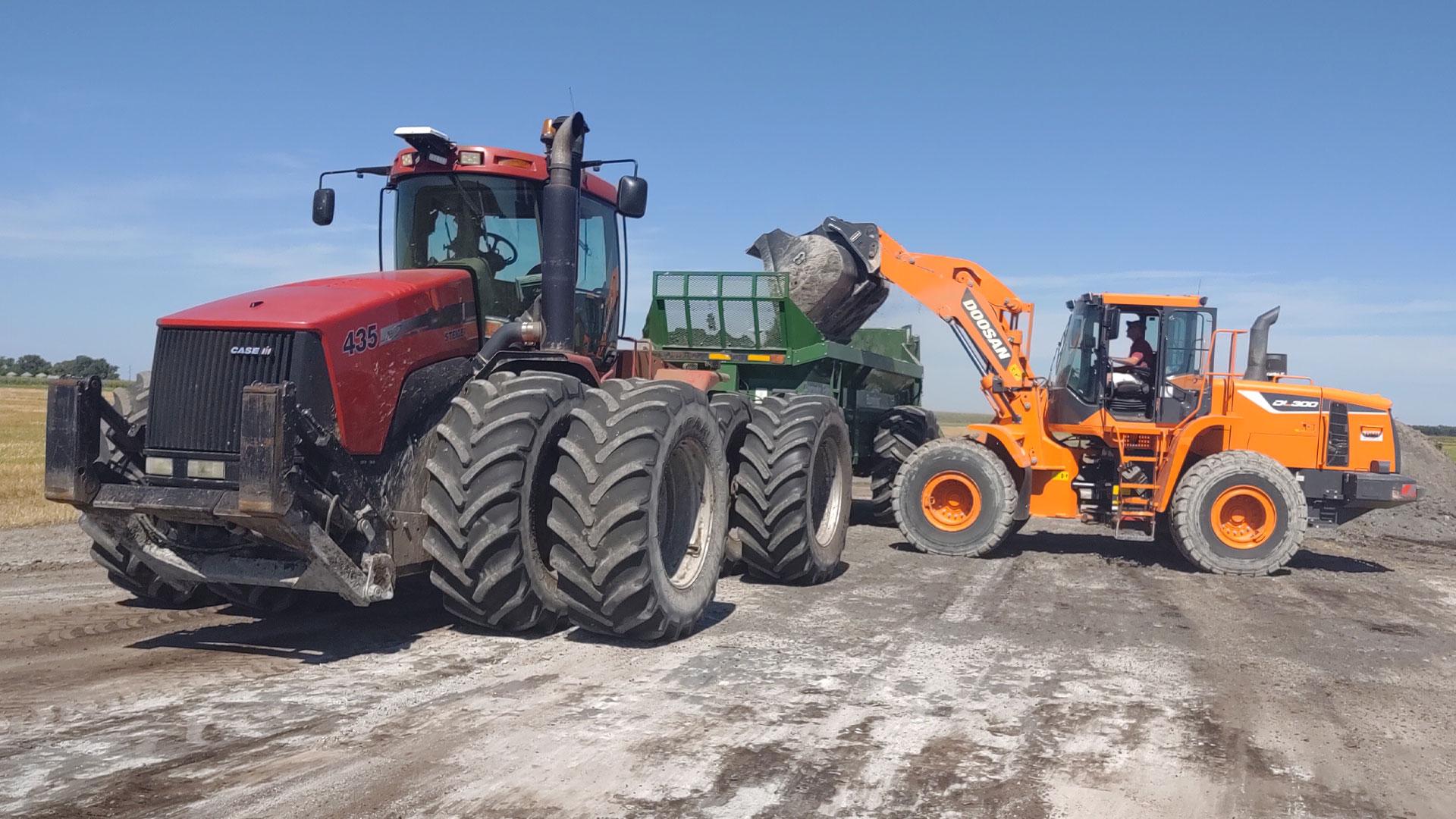 Custom Farming Horning Farms