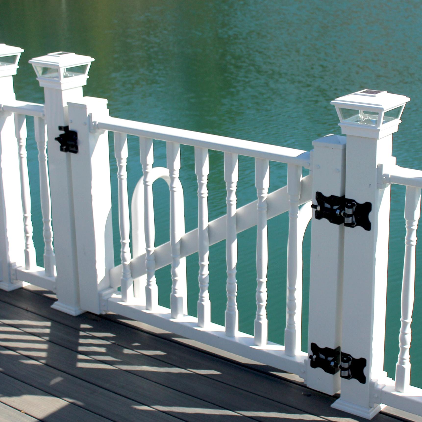 Vinyl Gate Kits — Color Guard Railing Systems