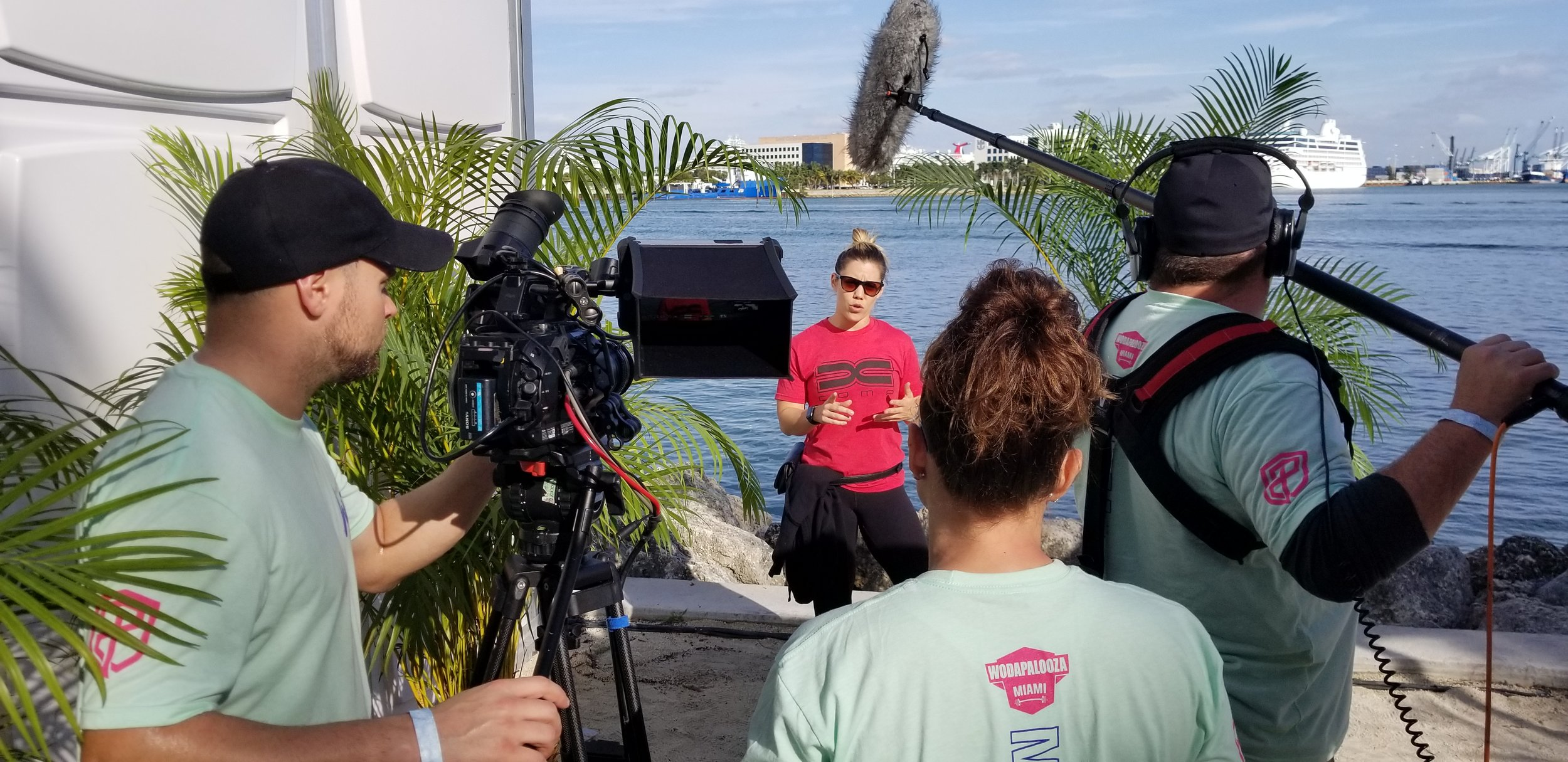 On location for IMG and Cross-Fit's Wodapalooza Miami