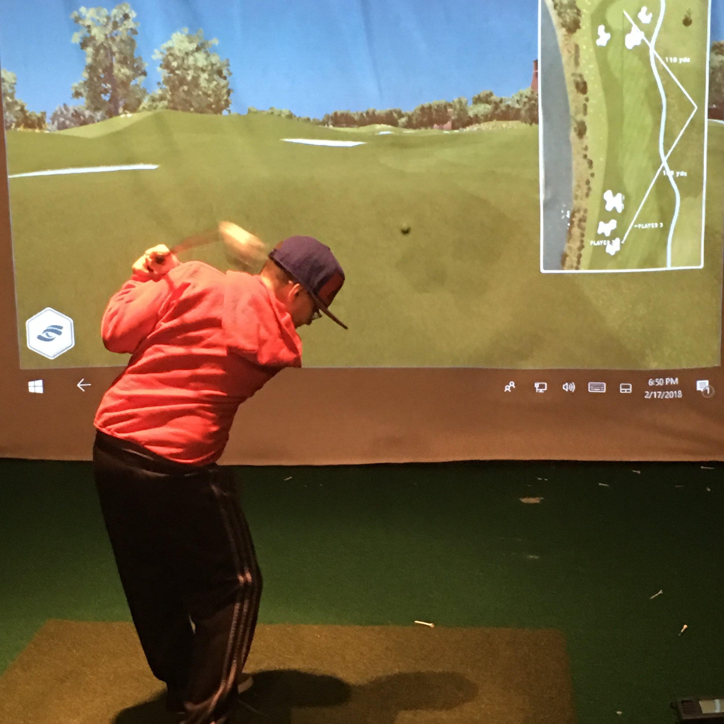 Golf Simulator 1.JPG
