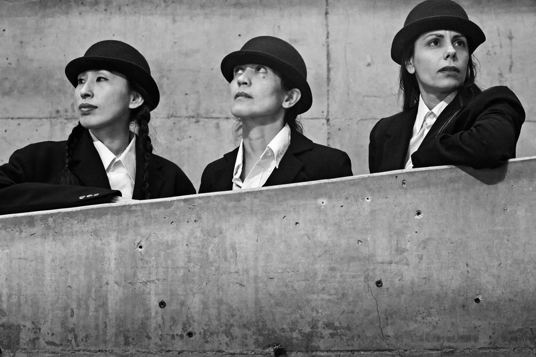 Dohee Lee, Joy Cosculluela & Rosario Sammartino