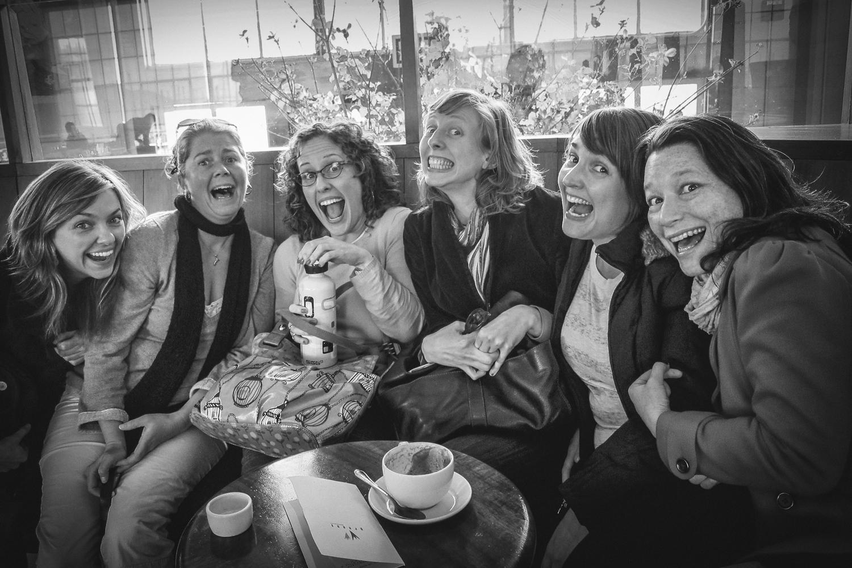 Erin Gilley, Jessica Heidt, Meredith McDonough, Marissa Wolf,  Jessica Holt & Erika Chong Shuch