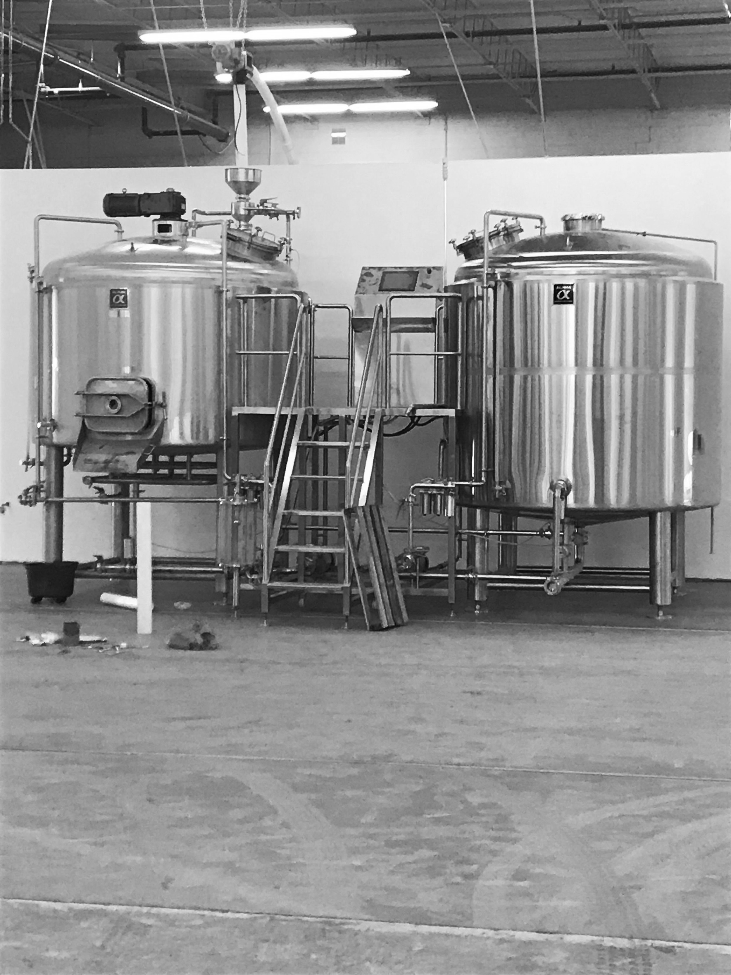 Think of all the beer we can make in here.
