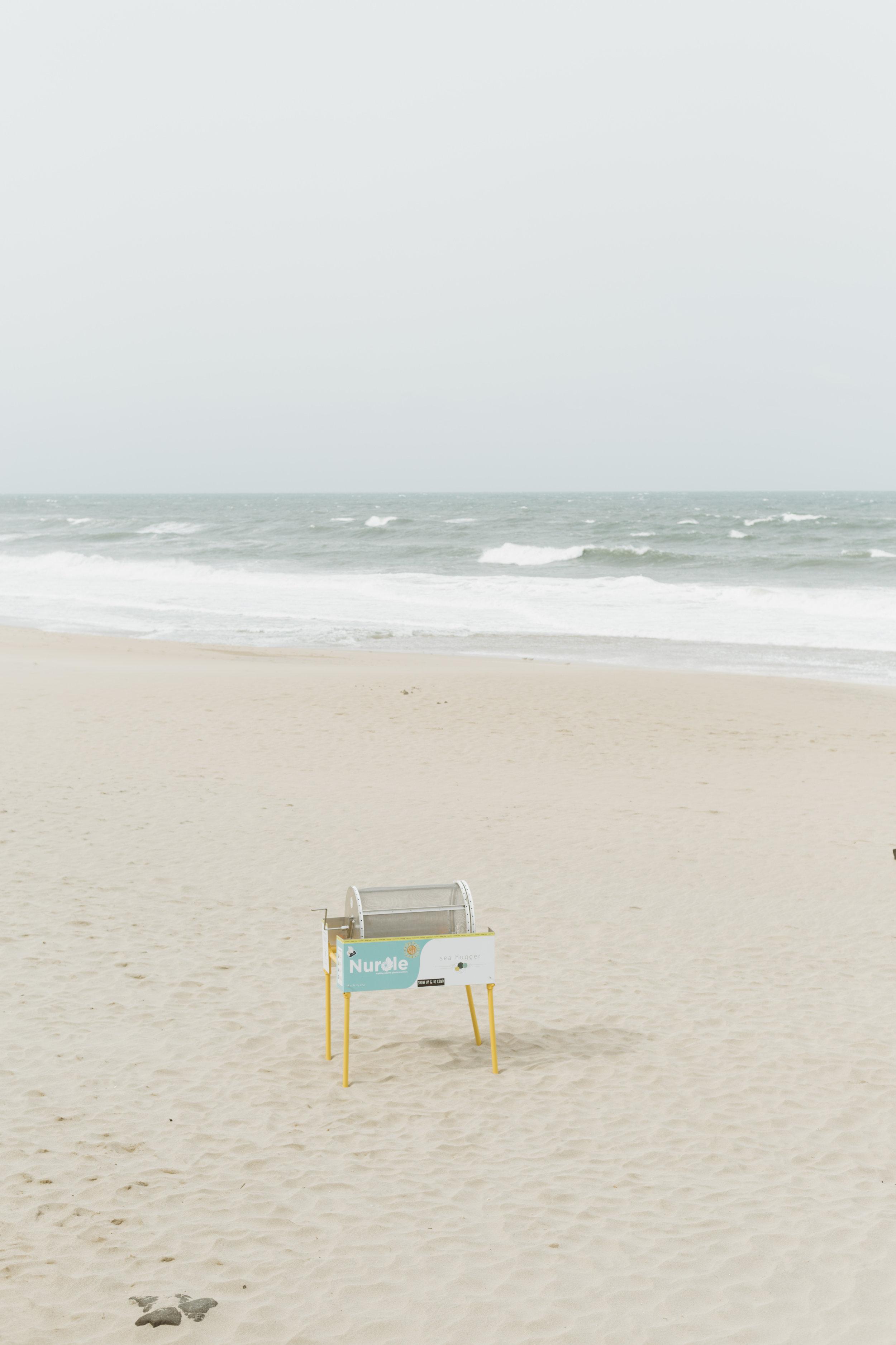 Sea Hugger's Nurdle Trommel combats marine plastic pollution.
