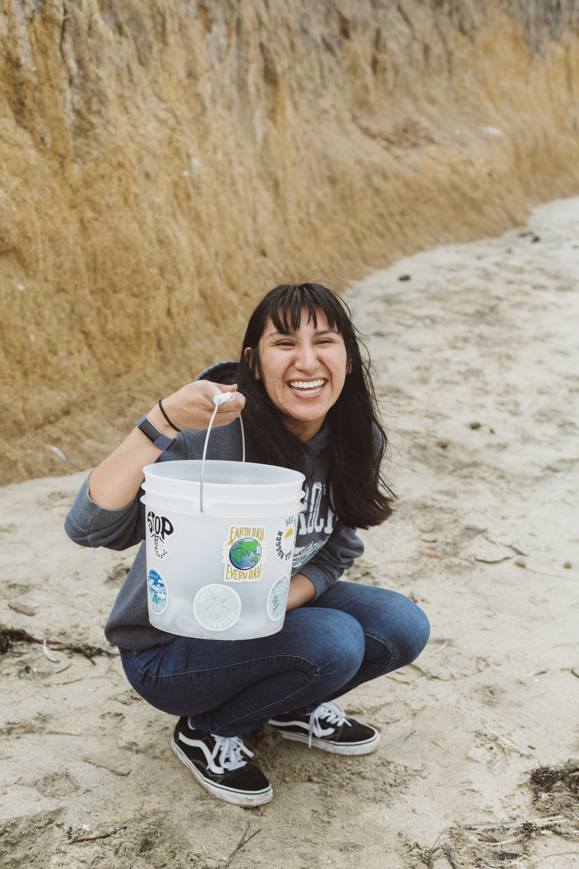Sea Hugger's monthly beach clean up in Half Moon Bay, CA