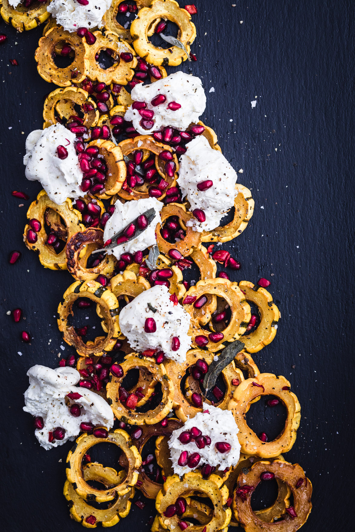 Maple Roasted Delicate Squash with Burrata & Pomegranate Seeds (4 of 6).jpg