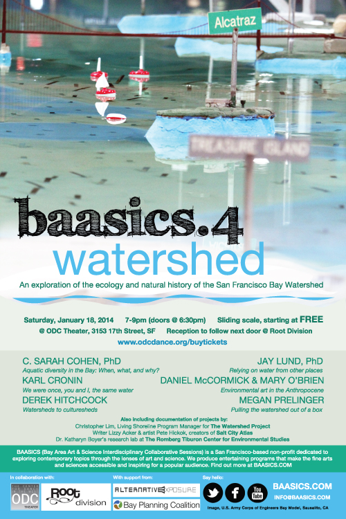 """Poster for """"BAASICS.4: Watershed"""" (2014)."""