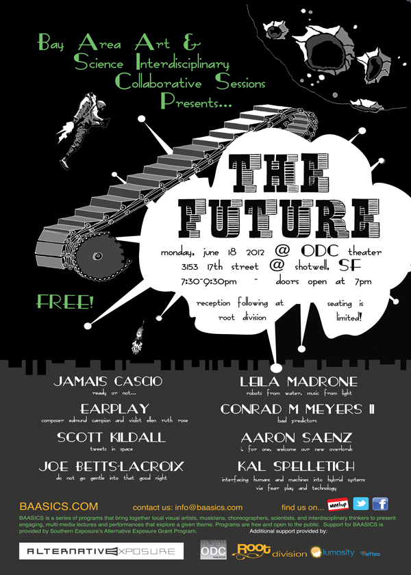 """Poster for """"BAASICS.2: The Future"""" (2012)."""