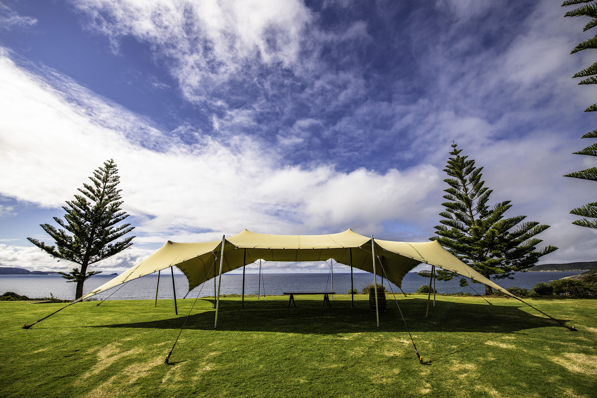 Stretch Tent Hire - Our premium 3-ply stretch tents are incredibly versatile, they can be installed in countless configurations to suit your needs…