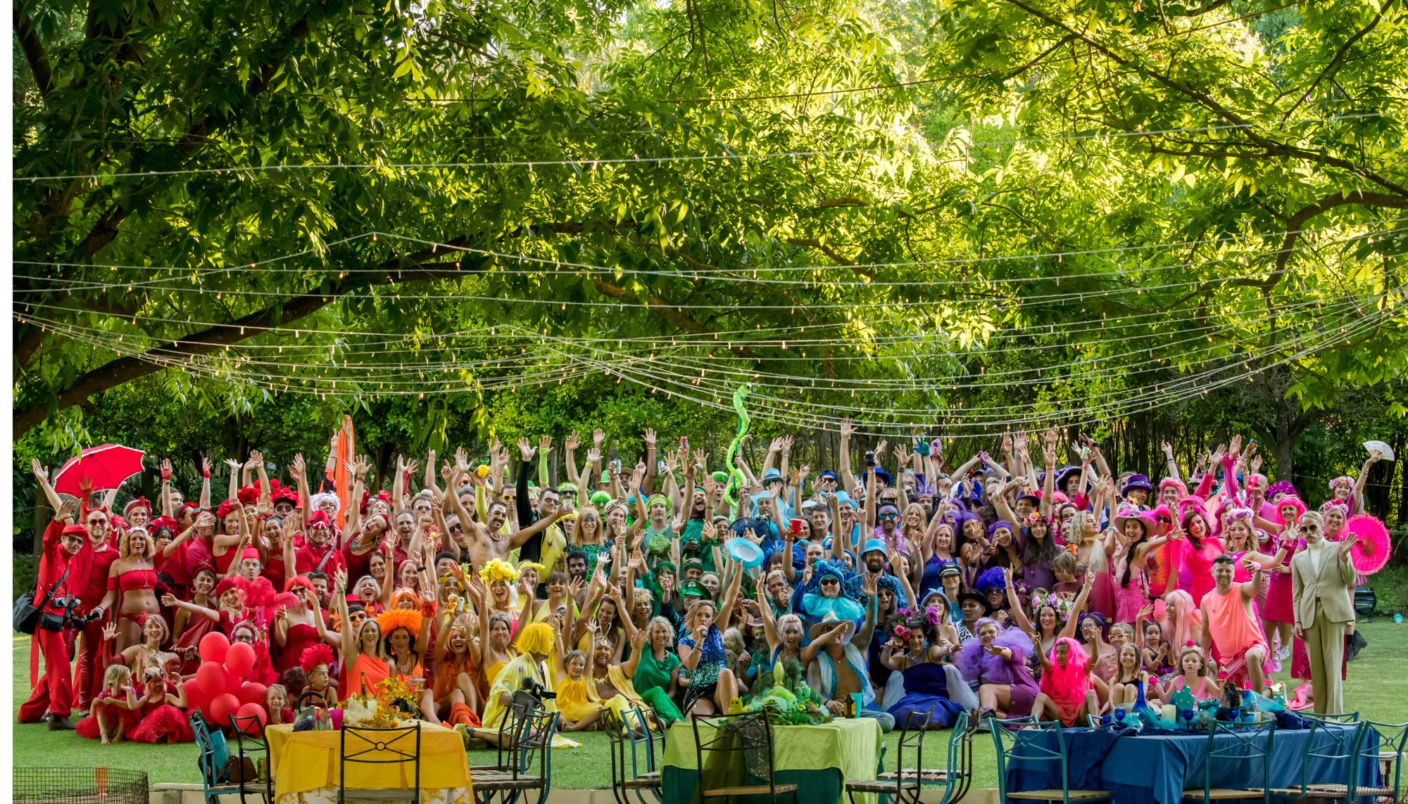Over the Rainbow Party - Blazing Swan Fundraiser Photo credit Ren Mcgann