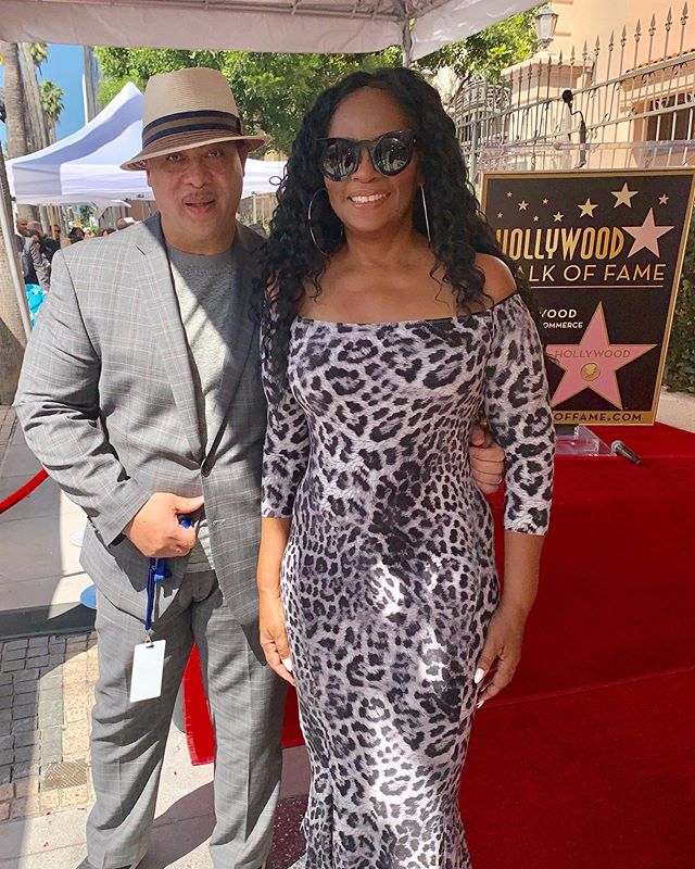 We are so grateful to our very special guests of honor for attending today. @lillothomas and #jackiewilson 's beautiful goddaughter @jodywatley shared a moment on the red carpet and we had all the feels!  #mrexcitement #jodywatley #lillothomas