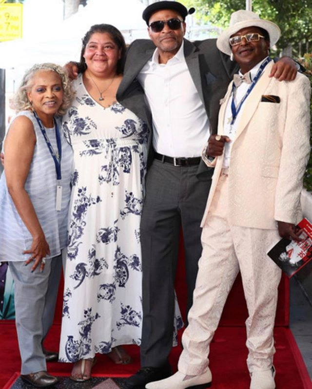 It was a beautiful day for #jackiewilson's family and fans on September 4th. Here are his four surviving children being presented with his star on the #hollywoodwalkoffame.  Among other loved ones and friends, They were happily joined by Jackie's grandchildren and great-grandchildren!  Pictured here From L - R are Sabrina Wilson, Li-Nie Wilson, John (Petie) Wilson and Anthony (Tony) Wilson.  Congratulations to the entire Wilson family and to all of his fans ⭐️. #mrexcitement #classicsoul #goat #brunswickrecords