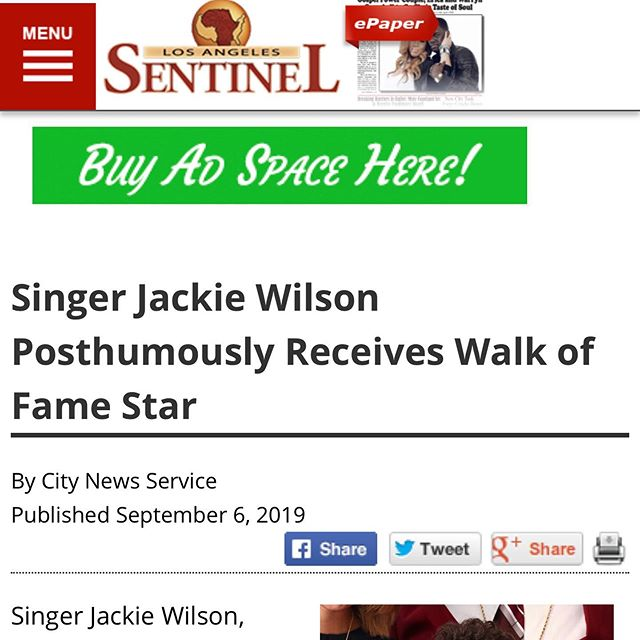 It was a joy and honor for #brunswickrecords to sponsor this historical tribute to the great #jackiewilson.  In addition to thanking #marshallthompson, @smokeyrobinson and #berrygordy for participating in this amazing event, we are so thrilled that @jodywatley , @lillothomas , @mwilsonsupreme & @rayparkerjr were there to celebrate this milestone with Jackie's family and friends.  We would like to thank #sabrinawilson and @ronbrewington for their 20 year effort to get Jackie's star approved.  It was a long journey but worth every second.  Thank you all from the bottom of our hearts.  This event would not be possible without the meticulous professionalism of Ana Martinez and @rana.ghadban_ with the #hollywoodwalkoffame.  We thank you both for ensuring that this event went on without a single hitch.  To the Wilson Family.  We are so happy for each and every one of you. Congratulations to Sabrina, Petie, Anthony, Li-Nie and the entire Wilson family