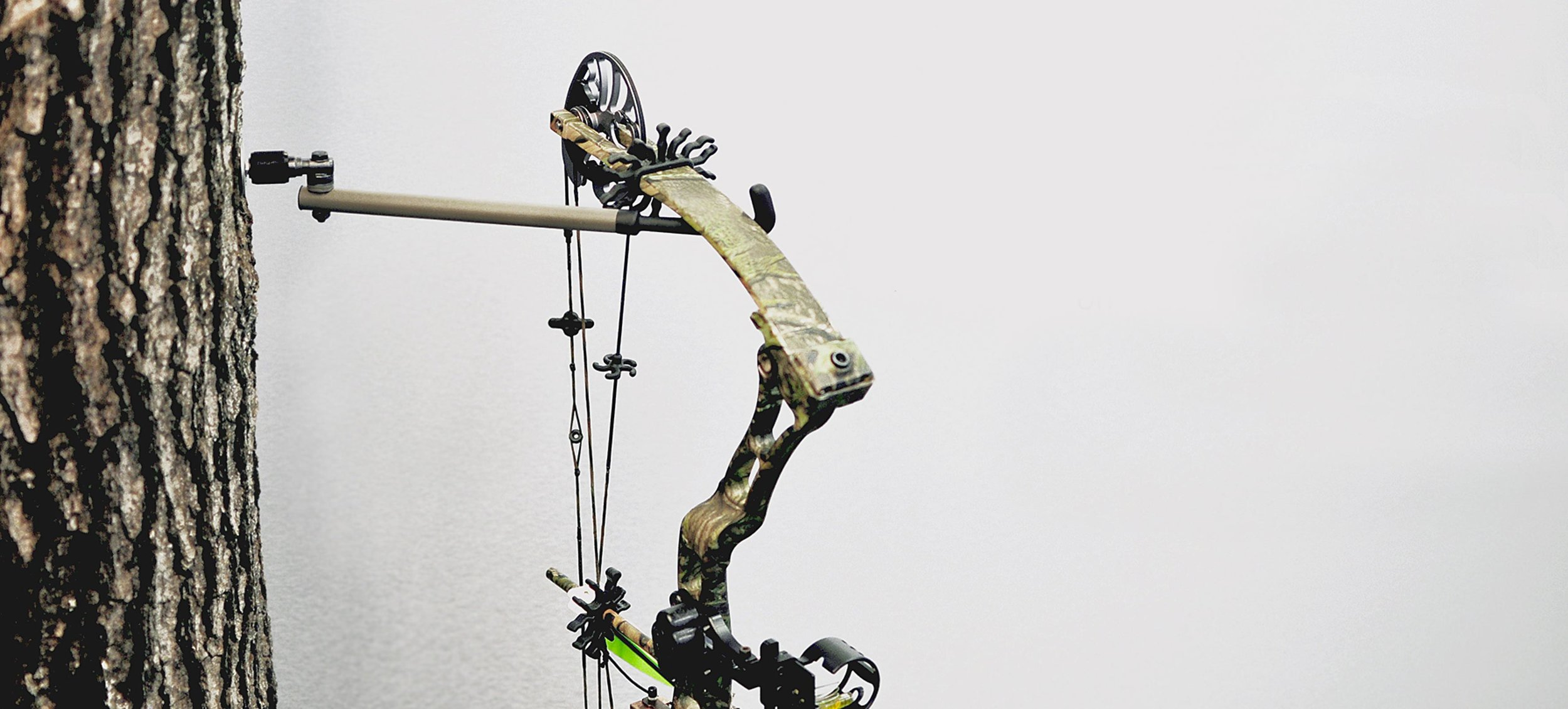 Set, Connect, Hunt - The Morph Pro Bow Hanger System is the most versatile bow hang on the market today. One system with a multitude of possibilities.
