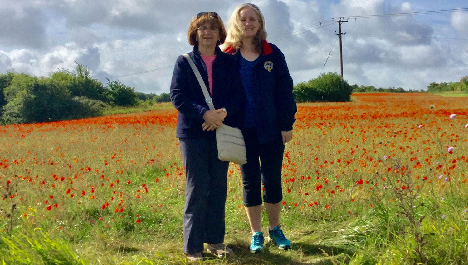 CLIENTS WILD POPPY FIELD, TEMPLE GUITING