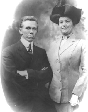 George and Lily Marshall (ca. 1922)