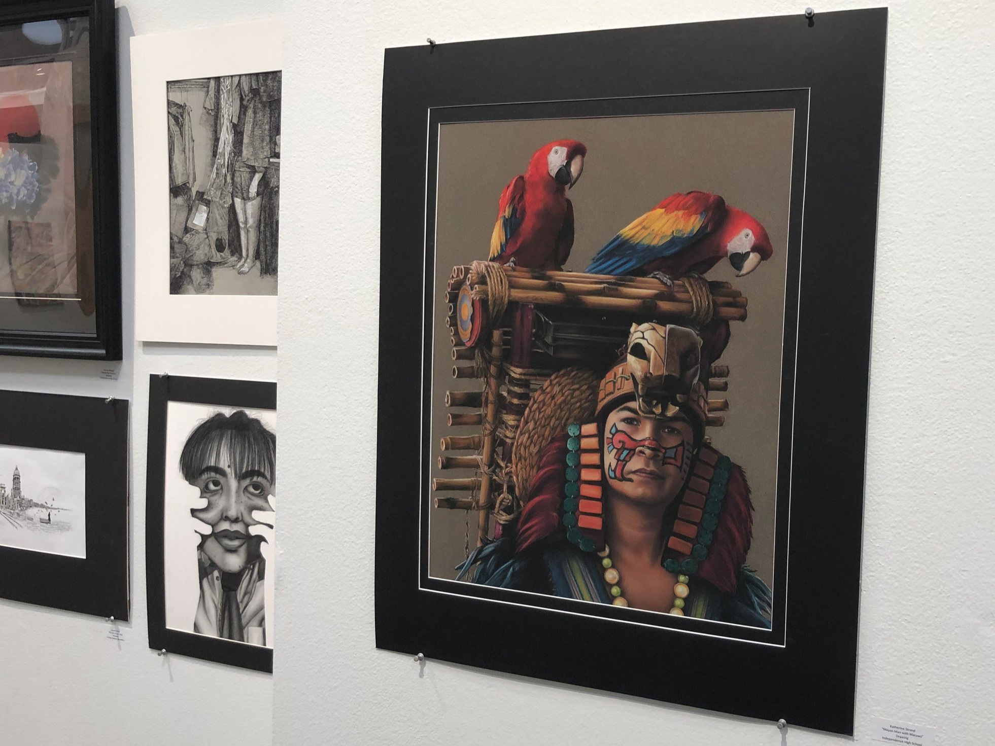 Gallery Show Feb 24th - March 25th - H. Paxton Moore Fine Arts Gallery El Centro College 801 Main Street Dallas, TX 75202Gallery Hours:Mon & Wed 10am - 4pm Thurs 10am - 7pm Fri 10am - 3pm Sat & Sun CLOSED