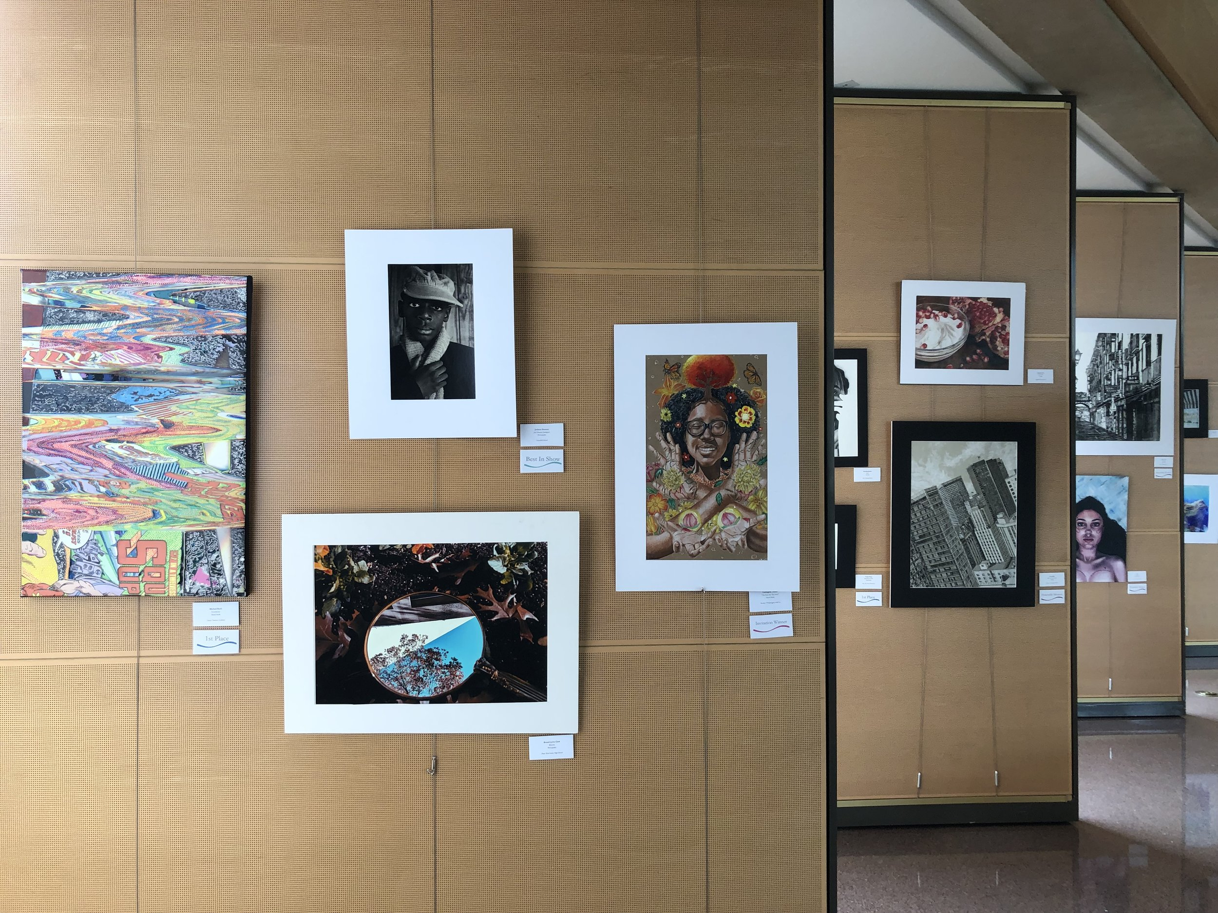 Encore Exhibit March 30th - April 24th - The YAT Winning Art Pieces and several finalists are invited to move to Dallas City Hall to be in the Encore Exhibit for Dallas Art Month. It is a great honor to have your art displayed in this 2nd show!