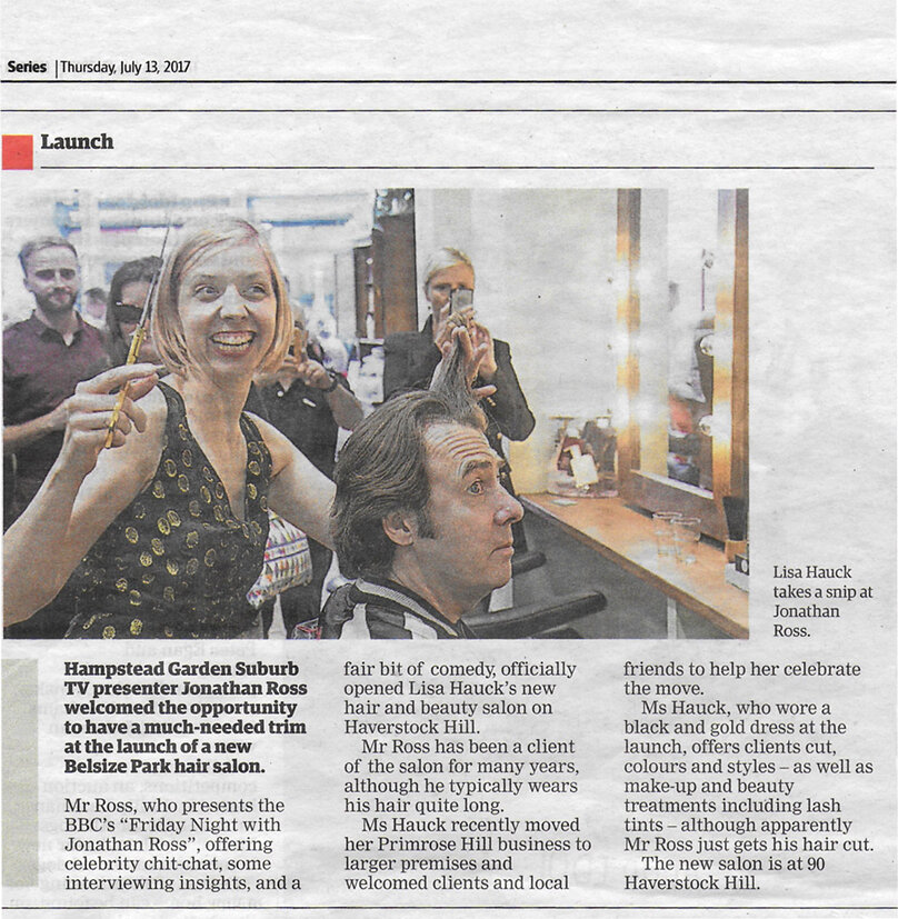 H&H Series, 13/07/2017 | Salon launch party at the Haverstock Hill address with Jonathan Ross