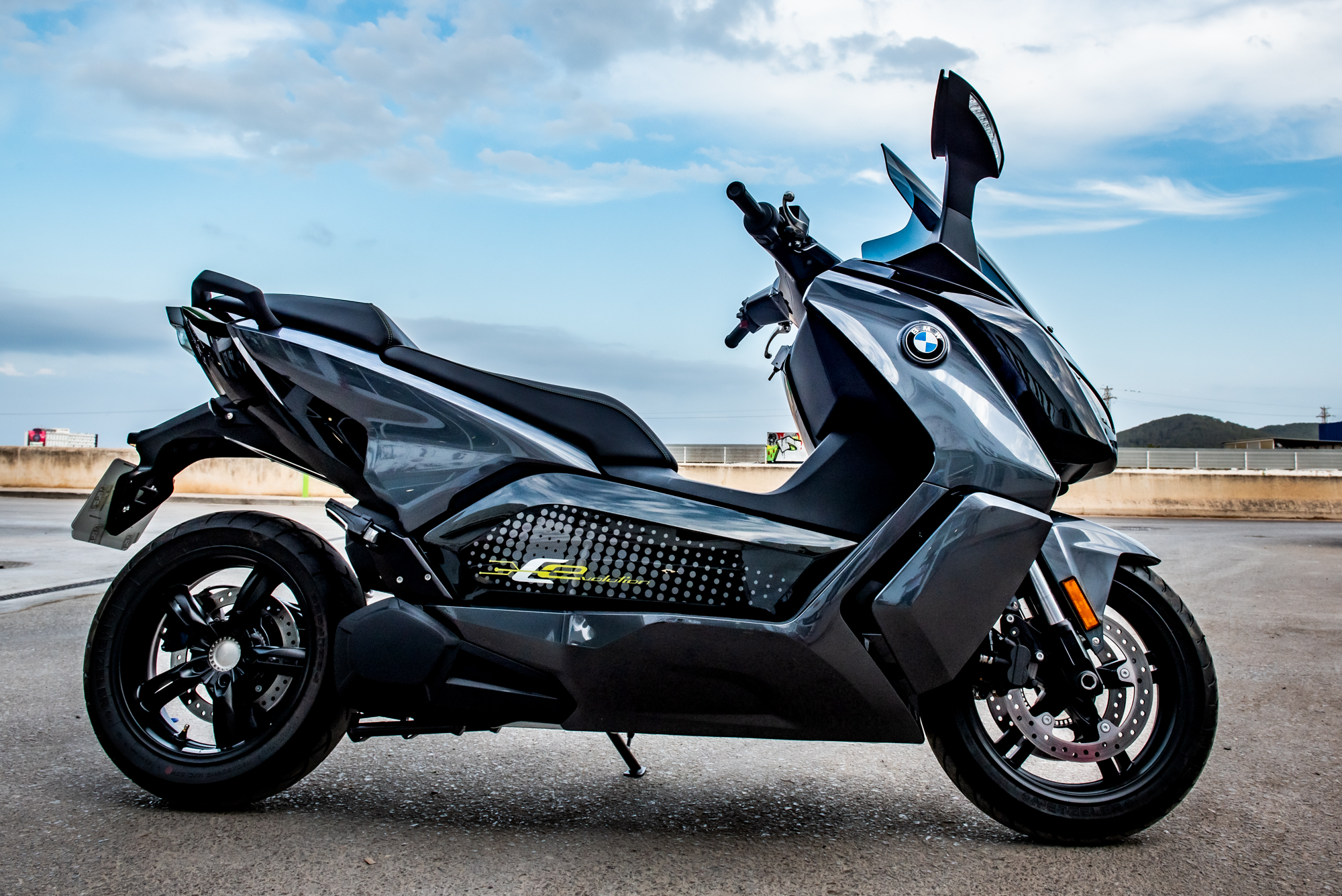 Comercial Photography - BMW C Evolution 100 % Electric