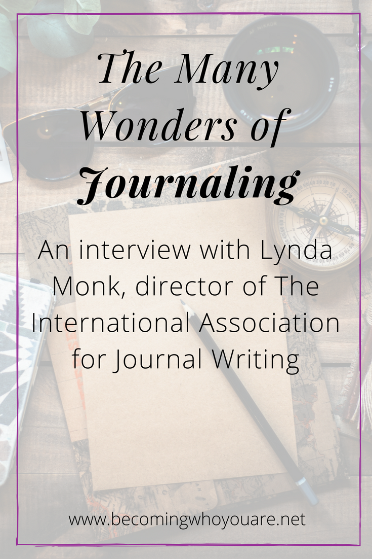 Wondering how journaling can help you and what it's all about? Click to listen to this inspiring interview with Lynda Monk, Director of the International Association of Journal Writing >
