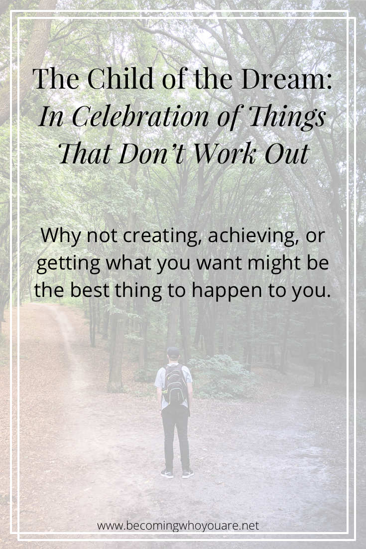 Struggling with setbacks? Click to discover why not creating, achieving, or getting what you want might be a good thing ->